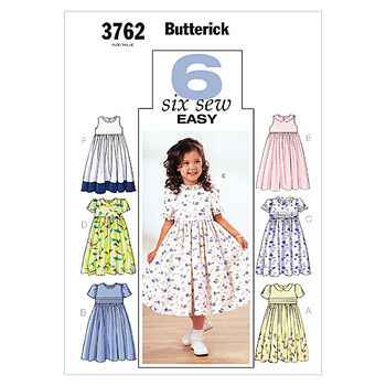 Butterick Child Dress-B3762