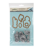 Spellbinders® Earth Air Water Stephanie Low Stamp & Die Set-Snail, , hi-res