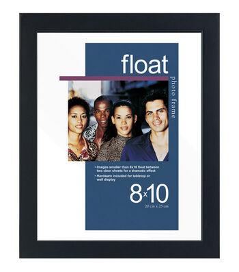 Wood Float Frame 8x10-Black