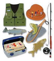 Jolee's Boutique Themed Ornate Stickers-Fishing Trip, , hi-res