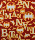 Halloween Cotton Fabric 44\u0027\u0027-Batman & Halloween on Orange