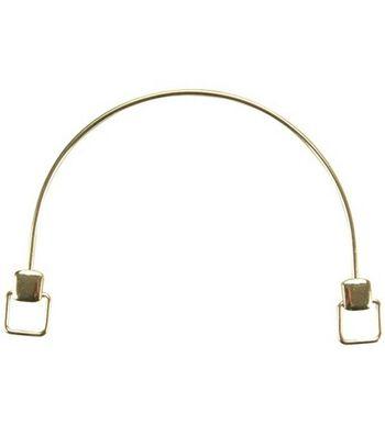 """Darcie Brass Purse Handle Frame 5-1/2""""X3-3/4""""-1/Pkg"""