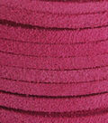 Silver Creek Leather Co. Suede Lace 1/8\u0022x25 Yards-Pink
