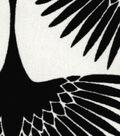 Genevieve Gorder Upholstery Fabric 54\u0027\u0027-Onyx Flock