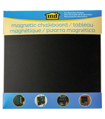 "Chalkboard Sheet 12""X12""-Black"
