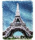 Wonderart Latch Hook Kit 15\u0022X20\u0022-Eiffel Tower