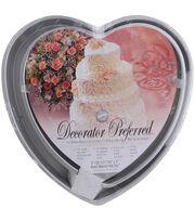 Wilton® Decorator Preferred Cake Pan Set-6'', 10'', 12'', 14''-Heart, , hi-res