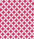 Quilter\u0027s Showcase™ Cotton Quilt Fabric 44\u0022-Quatrefoil Beetroot and White