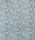 Home Decor 8\u0022x8\u0022 Fabric Swatch-SMC Designs Brownstone / Aquamarine
