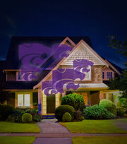 Kansas State University Wildcats Team Pride Light, , hi-res