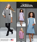 Simplicity Patterns Us8026Bb-Simplicity Girls And Girls Plus Project Runway Dress, Jumper-8 1/2 - 16 1/2