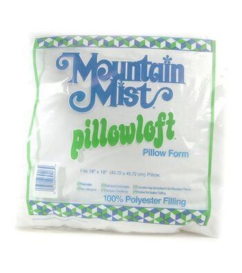 """Mountain Mist Pillowloft Woven Cover Pillow Form 18""""x 18"""""""