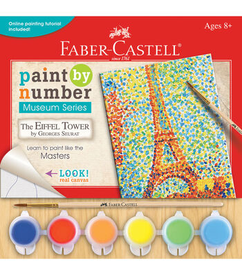 Faber-Castell® Museum Series Paint By Number Kit-The Eiffel Tower
