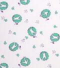 1930\u0027s Cotton Fabric 43\u0022-Nostalgic Bird Green