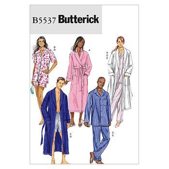 Butterick Pattern B5537 Adult Sleep & Lounge