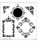 Crafter\u0027s Workshop Templates 6\u0022X6\u0022-Fancy Frames