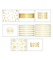 Teresa Collins™ Gold Glam Box of Cards-Love, , hi-res