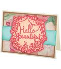 Sizzix Thinlits Katelyn Lizardi 2 Pack Dies-Hello Beautiful