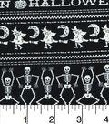 Halloween Cotton Fabric-Iconic Stripes Glow