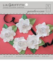 Lia Griffith Paper Flower Garden-Gardenias, , hi-res