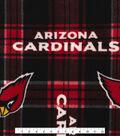 Nfl Arizona Cardinals Plaid Flc