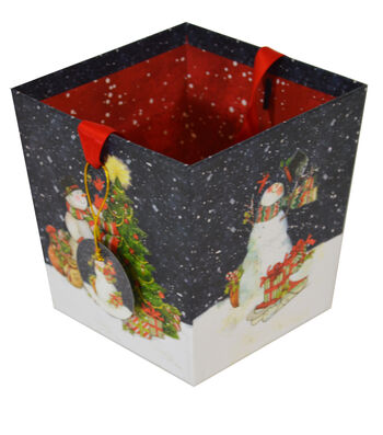 Maker's Holiday Open Bin-Snowman
