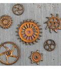 Rust Gears-mechanicals Emblshmt