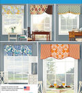 Simplicity Patterns Us1078Os-Simplicity Valances For 39 1/2 Wide Windows-One Size