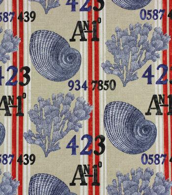 Solarium Outdoor Print Fabric 54''-Nautical Life Sailor