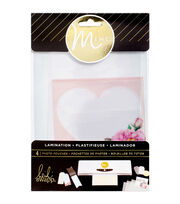 Heidi Swapp Minc Lamination Photo Pouches Assorted Sizes 4/Pkg-Printed, , hi-res