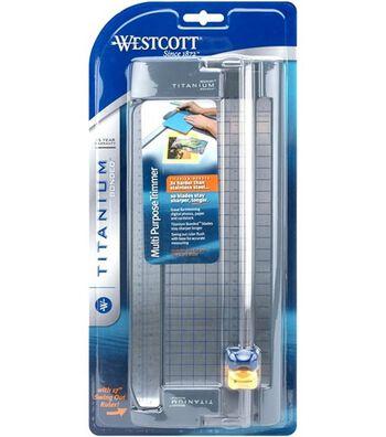 """Westcott Paper Trimmer w/Titanium Blades 12"""""""