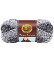 Lion Brand Tweed Stripes Yarn, , hi-res