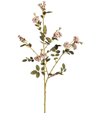 "Bloom Room 30"" Pompon Rose Spray-Dusty Pink"
