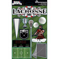 Reminisce Real Sports Dimensional Stickers Lacrosse