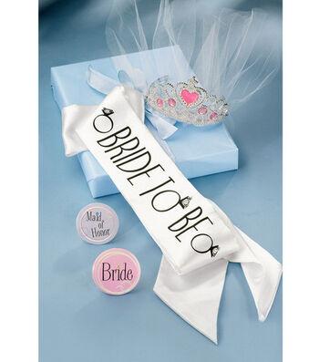 Wilton® Bridal Sash & Crown Party Kit