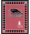 Southern Illinois University Salukis Fleece Fabric Panel 60\u0022-Logo