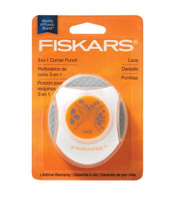 Fiskars Photo 3-in-1 Corner Punch-1PK/Lace