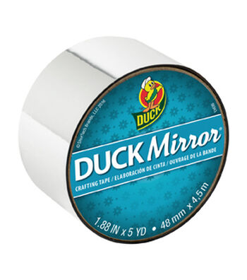Duck Mirror® Crafting Tape 1.88 in. x 5 yd.-Silver