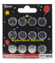 Darice® AG13 Replacement Batteries For Tea Lights, , hi-res