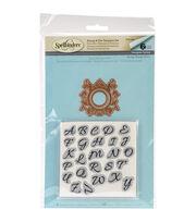 Spellbinders® Rouge Royale Deux Stamp & Die Set-Royale Monogram Set, , hi-res