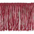 4.0 In Red Poly Fringe