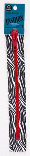 Coats & Clark® 7\u0027\u0027 Printed Closed End Fashion Zipper