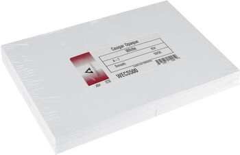 "Leader A7 Greeting Cards w/Envelopes (5.25""X7.25"") 50/Pkg-White"