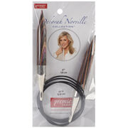 Deborah Norville Fixed Circular Needles 47'' Size 19/15.0mm, , hi-res