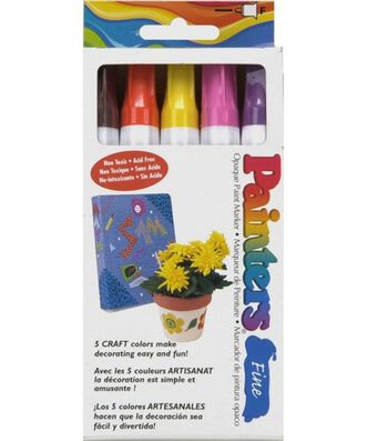 Painters Fine Markers-5 pack