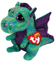 Ty Beanie Boos Cinder The Green Dragon Medium Plush, , hi-res