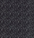 Keepsake Calico™ Cotton Fabric-Scribble Flowers Black