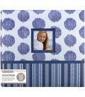 K&Company Vintage Blue Collage 12\u0022x12\u0022 Window Scrapbook