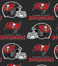 Tampa Bay Buccaneers Fleece Fabric 58\u0022-Helmet