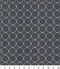 P/K Lifestyles Multi-Purpose Decor Fabric 57\u0022-Ringtone Emb Iron